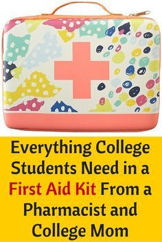 The Most Complete First Aid Kit for College Students, Ever! Here is the PERFECT list of everything college students need in their own first aid and medicine kit. Perfect for apartments and dorm rooms. - College Scholarships Tips College Packing Lists, College Checklist, College Essentials, College Planning, University Essentials, Room Essentials, College Mom, College List, College Dorm Rooms