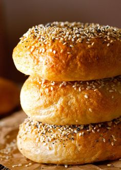 I gotta try making bagels one day. 2 hour bagel recipe