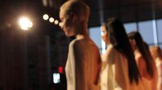 Mercedes-Benz Fashion Week F/W 2012 - Reel, ION Studio Mercedes Benz, Fall Winter, Nyc, Studio, Concert, Videos, People, Hair, Fashion