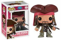 Jack Sparrow Pop by Funko