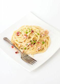 Lobster Alfredo | bsinthekitchen.com #dinner #pasta #bsinthekitchen