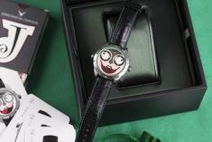 Wristmons - Konstantin Chaykin Joker Watch, Dogs Playing Poker, Poker Hands, Titanium Watches, Famous Dogs, Just A Game, Mechanical Watch, Watch Case, The Incredibles