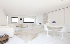 White Dreamy Place in London ♥ Бяла къща в Лондон | 79 Ideas
