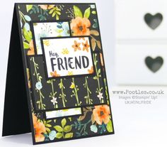 Stampin' Up! Demonstrator Pootles -A Whole Lot of Lovely with Orange Blossom