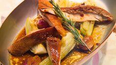 poulet de bresse au beurre citronné et romarin