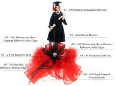 Graduation Centerpiece #007. For more details, please visit our website www.lacrafts.com