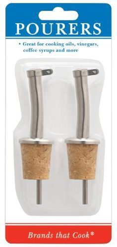 Westmark Pourers with Natural Cork Inserts, Set of 2 by Westmark, http://www.amazon.com/dp/B003MP8QGA/ref=cm_sw_r_pi_dp_Cnhxsb0TNF6KR