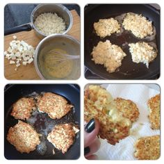 PRIMAL JOURNEY: Cauliflower & Feta Fritters