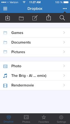 Dropbox-fullpixel Win Phone, Ios App Design, Ios 7, Ui Inspiration, Mobile Design, Mobile Ui, Color Of Life, User Interface, Ipad