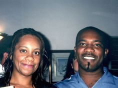 Photo: Vaden Jones and friend.  Who remembers when Vaden was manager at The Oualie Beach Resort, #Nevis, West Indies?  This photo must be from about 1999 or so.