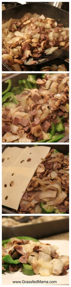 Low Carb Recipes Low Carb Casserole, easy low carb dinner, low carb recipes, trim healthy mama - A Low Carb Casserole with flavors of a Philly Cheesesteak Sandwich Ketogenic Recipes, Low Carb Recipes, Beef Recipes, Cooking Recipes, Healthy Recipes, Pescatarian Recipes, Ketogenic Diet, Diabetic Recipes, Slow Cooking