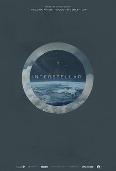 Alternative Interstellar Posters | Designer: James Fletcher | Via: Inspiration Grid #filmposter