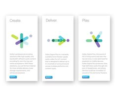 DOLBY | Sub-brand Identities & Look-and-Feel by Alejanski & Co., via Behance