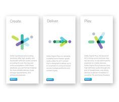 DOLBY | Sub-brand Identities & Look-and-Feel by Alejanski & Co., via Behance