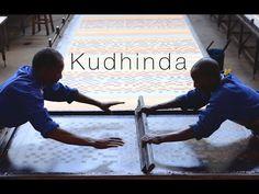 ▶ Kudhinda Fabrics - Screen Printing. - YouTube
