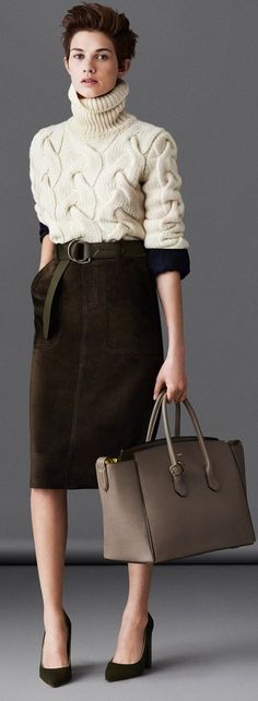 Bally FW 14  | LBV ♥✤  If only it got cold enough for thick sweaters!