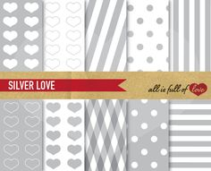 Check out Digital Background Patterns by Allfulloflovee on Creative Market  #scrapbooking #layouts #paper