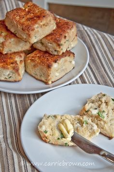 Low carb Sour Cream and Chive Biscuits - still the best bread I've found - make it sweet or savory.
