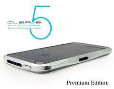 CLEAVE ALUMINIUM BUMPER for iPhone5 〜Premium Edition〜
