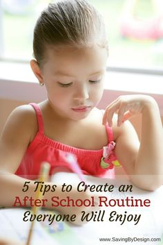5 tips to create an after school routine everyone will love