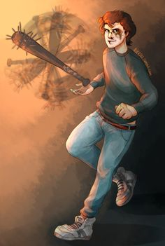 i hated steve until he got Beat Up and started flippin baseball bats for no reason. Stranger Things Tv Series, Stranger Things Characters, Stranger Things Have Happened, Stranger Things Steve, Stranger Things Season 3, Steve Harrington Stranger Things, Believe, Stuff And Thangs, Disney Fan Art