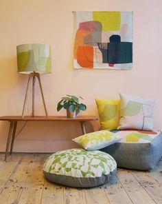 Maxine sutton textiles for our home декор.