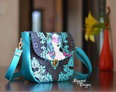 Serin Sling Bag Bag Patterns To Sew, Pdf Sewing Patterns, Sewing Basics, Sewing Tips, Sewing Ideas, Sewing Projects, Serin, Purse Tutorial, Lining Fabric