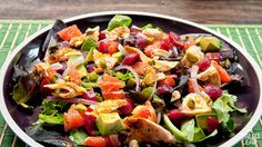 Salmon and Beet Salad