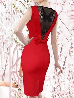Online Shopping Sites For Women Elegant Dresses, Beautiful Dresses, Casual Dresses, Short Dresses, Chiffon Dress Long, Lace Dress, Red Chiffon, Mode Outfits, Fashion Outfits