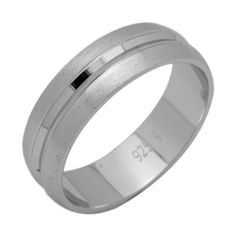 .925 Sterling Silver 5 Mm Comfort Fit Double Milgrain Wedding Band Ring Clear-Cut Texture Jewelry & Watches