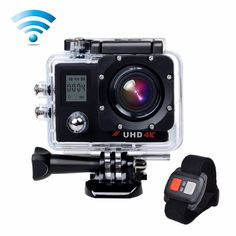 """>> Click to Buy << Underwater Action Camera 4K Sport Cam 16MP Wifi 2"""" LCD Dual Display 170 Wide Angle Lens 2.4G Remote Control & HDMI Campark ACT76 #Affiliate"""