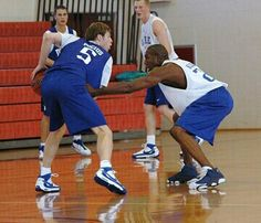 Martynas Pocius and DeMarcus Nelson