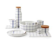 Mormor Blue tableware by Normann Copenhagen #decoration #homedecor #home #blue #tableware