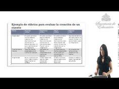 Vídeo sobre la rúbrica como método de evaluación