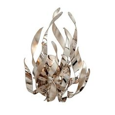 wall sconce that looks like flickering flames from Corbett Lighting