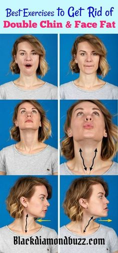 How to Get Rid of Double Chin and Chubby Cheeks Fast. Try these best exercises and home remedies to lose fat on the face.