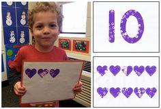 Valentine's Day 5-Group Cards: Enjoy PK-2 Eureka Math fluency activities with a Valentine's Day twist!