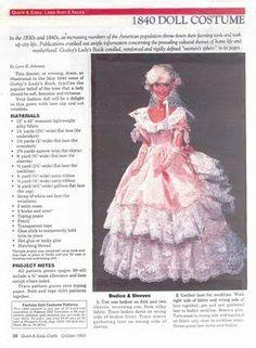 Vestido para Barbie | labores de esther. todo para barbie