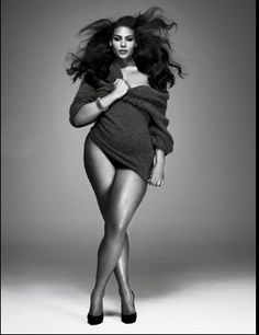 And this is plus size?  Ridiculous!! She just has curves!  Sign me up! ; )