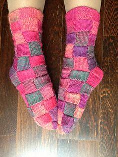Sock pattern.