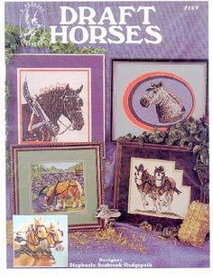 Draft Horses - Cross Stitch Pattern