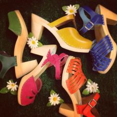 Colorful mix of shoes by Maguba @ HIPPO! Royale  www.facebook.com/hipporoyale