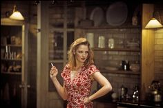 Kelly Reilly as Miss Julie in Patrick Marber's 'After Miss Julie'