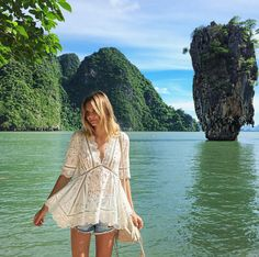 The It Girls with the Best Vacation Style Ever via @WhoWhatWearUK