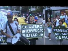 Os Intervencionistas na Av. Paulista -SP dia 26-03-2017  registrou e mos...
