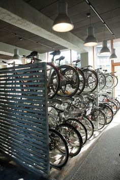 denmark - bike parking