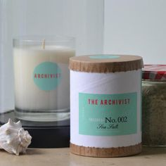 Sea Salt Archivist Candle by Greenmarket Purveying Co. - Seven Colonial