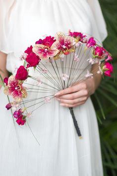wedding bouquet, свадебный букет, букет невесты, букет веер, wedding ideas