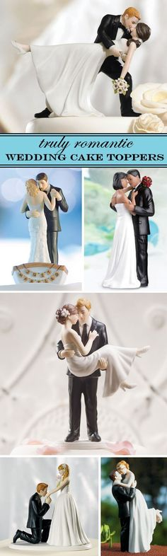 15 Romantic Wedding Cake Toppers that are stylish, modern and affordable!