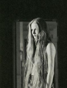 Very Long Messy Hippie Hair